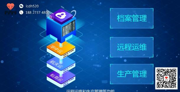 工业产品演示动画制作 华中数控云管家iNC-Clound