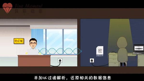 琼海市税务局保密动画视频安全宣传片制作(下)