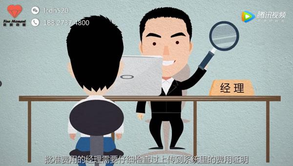宝洁差旅费报销流程MG动画 广州动画制作公司